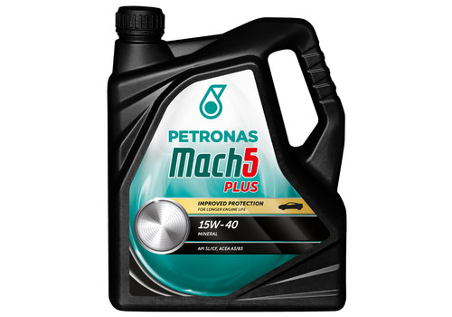 Petronas Mach 5 15W-40, 5 lt