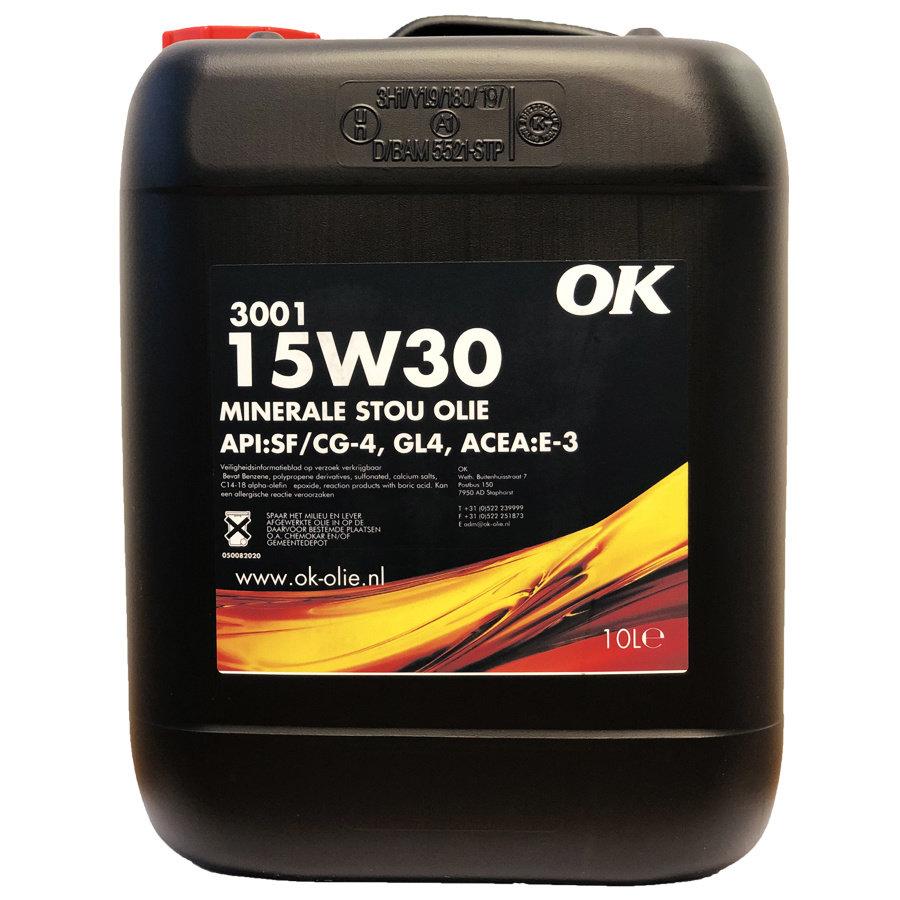 3001 15W-30 - Tractorolie, 10 lt-1
