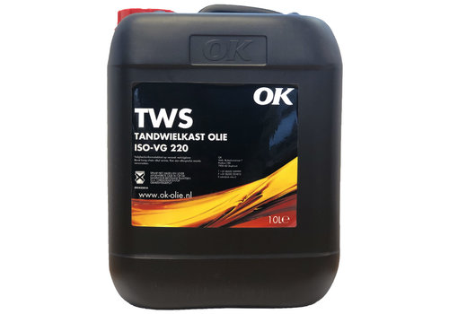 OK TWS ISO-VG 220 - Tandwielolie, 10 lt