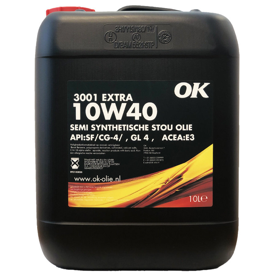 3001 Extra 10W-40 - Super Tractor Olie, 10 lt-1