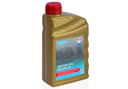 77 Lubricants Motor Oil SN 5W-20 - Motorolie, 1 lt (OUTLET)