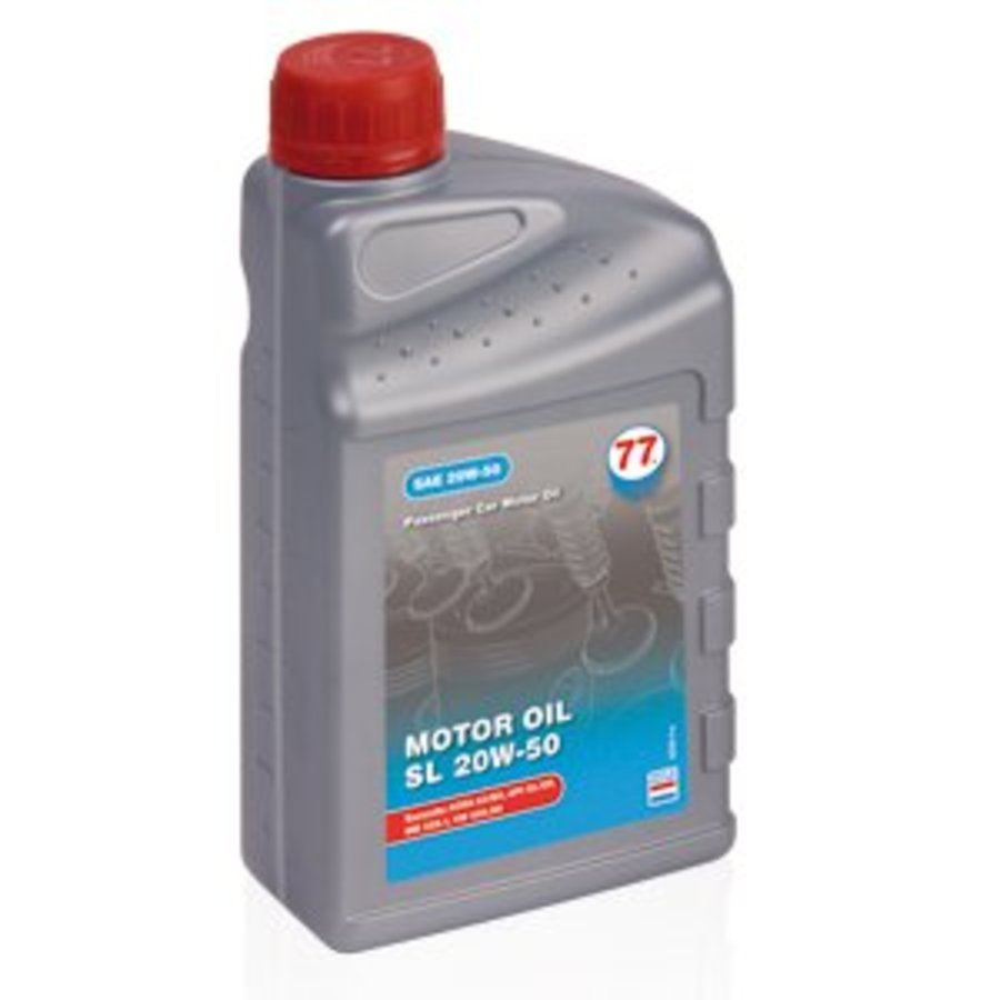 Motor Oil SL 20W-50 - Motorolie, 1 lt (OUTLET)-1