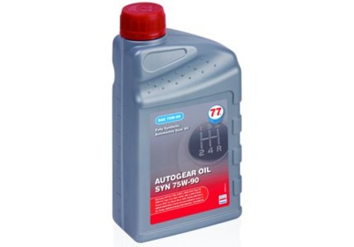 77 Lubricants Autogear Oil SYN 75W-90 - Versnellingsbakolie, 1 lt (OUTLET)