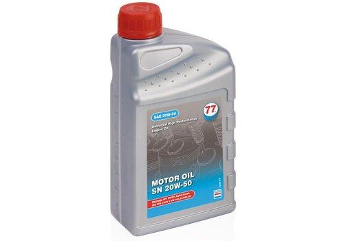 77 Lubricants Motor Oil SN 20W-50 - Motorolie, 1 lt