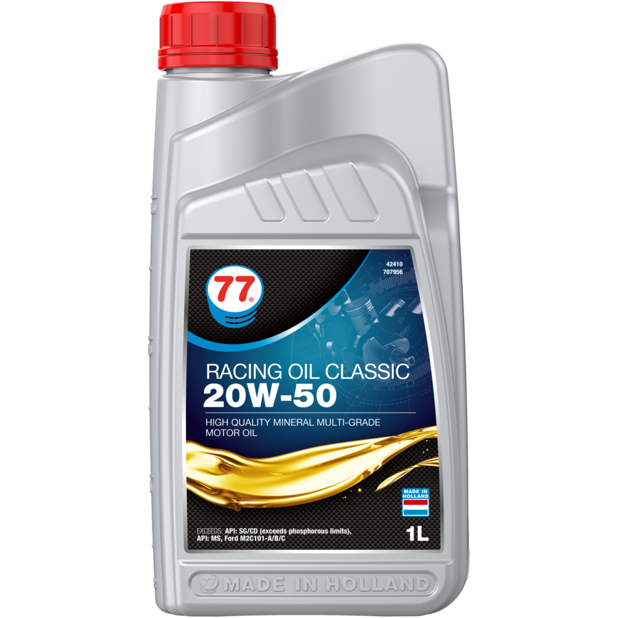 Racing Oil Classic 20W-50 - Motorolie, 12 x 1 lt-2