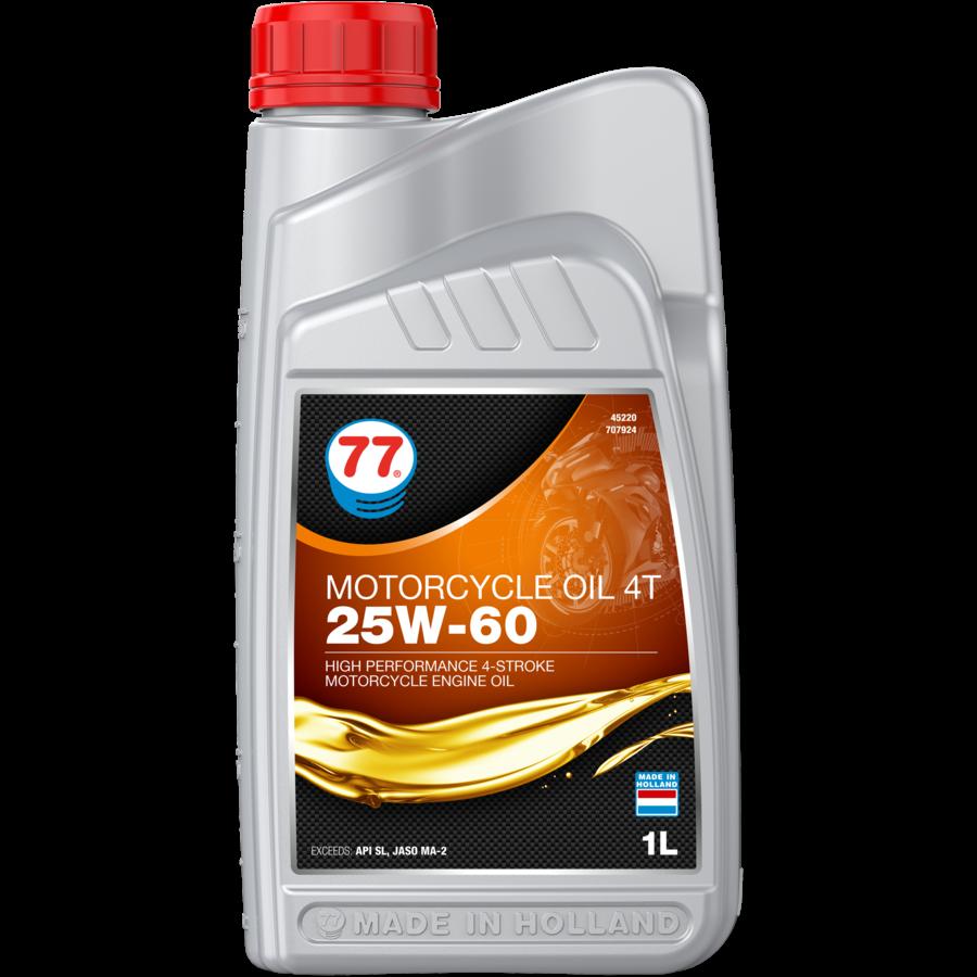 Motorcycle Oil 4T 25W-60 - Motorfietsolie, 12 x 1 lt-2