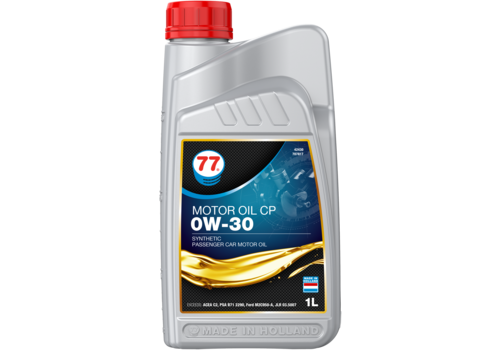 77 Lubricants Motor Oil CP 0W-30 - Motorolie, 1 lt