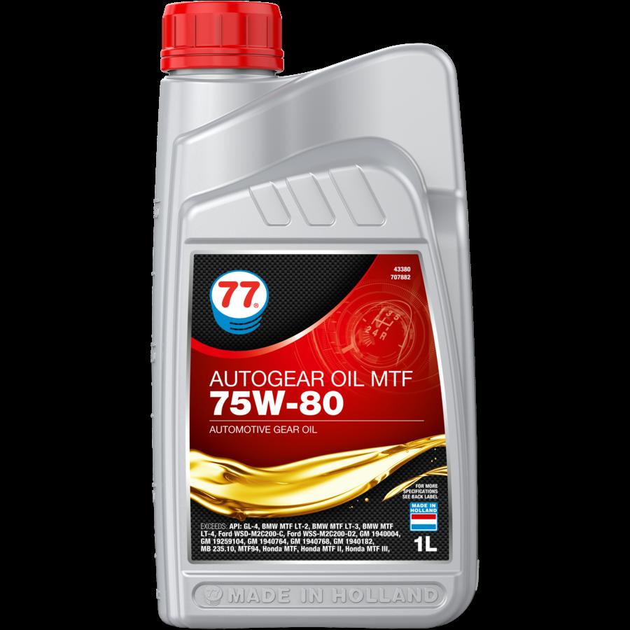 Autogear MTF 75W-80 - Versnellingsbakolie, 12 x 1 lt-2