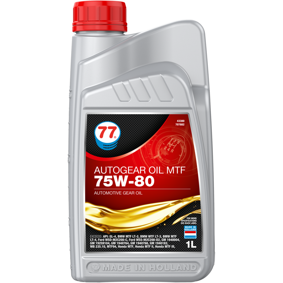 Autogear Oil MTF 75W-80 - Versnellingsbakolie, 1 lt-1