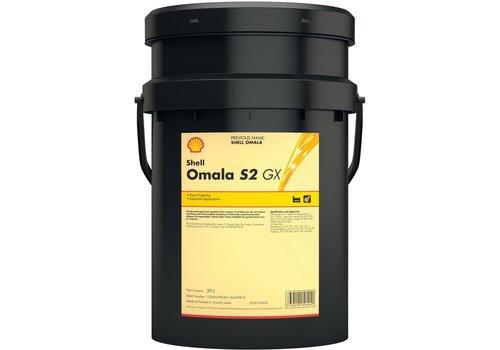 Shell Omala S2 GX 220 - Tandwielolie, 20 lt