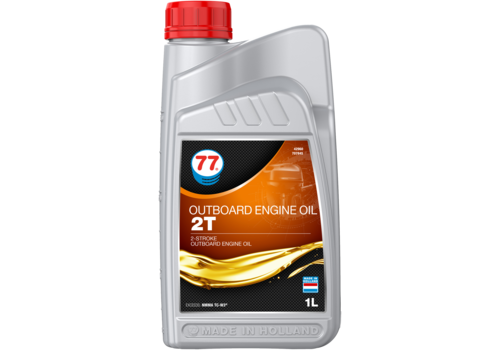 77 Lubricants Outboard Engine Oil 2T - Buitenboordmotor olie, 1 lt