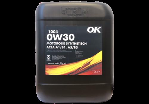 OK 1004 0W-30 - Motorolie, 10 lt