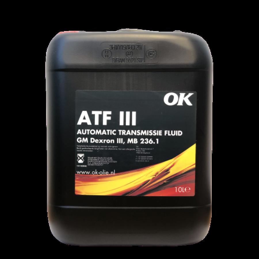 ATF III - Transmissie olie, 10 lt-1