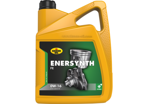 Kroon Oil Enersynth FE 0W-16 - Motorolie, 5 lt
