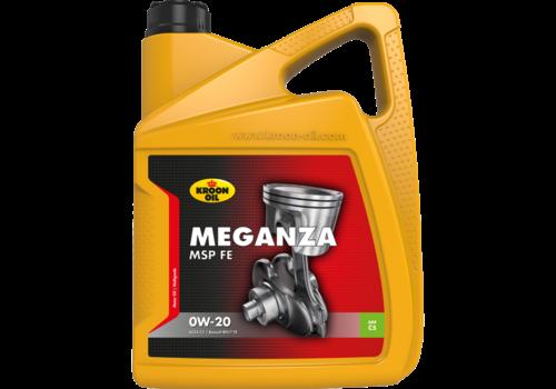 Kroon Oil Meganza MSP FE 0W-20 - Motorolie, 5 lt