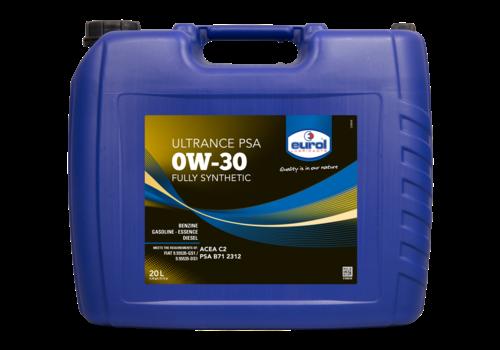 Eurol Ultrance PSA 0W-30 - Motorolie, 20 lt