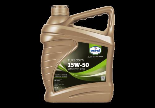 Eurol Turbosyn 15W-50 - Motorolie, 4 lt
