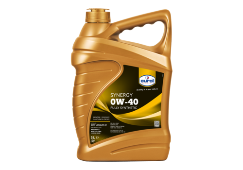 Eurol Synergy 0W-40 - Motorolie, 5 lt