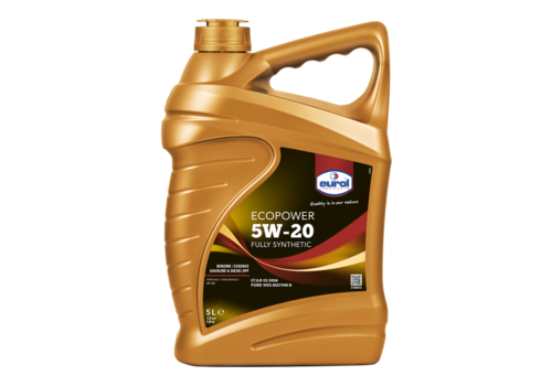 Eurol Ecopower 5W-20 - Motorolie, 5 lt