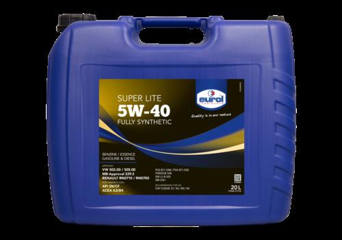 Eurol Super Lite 5W-40 - Motorolie, 20 lt