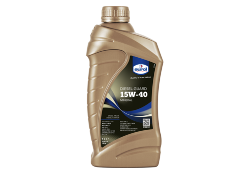 Eurol Diesel-Guard 15W-40 - Heavy Duty, 1 lt