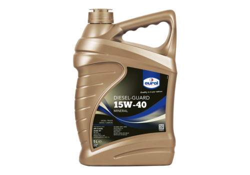 Eurol Diesel-Guard 15W-40 - Heavy Duty, 5 lt