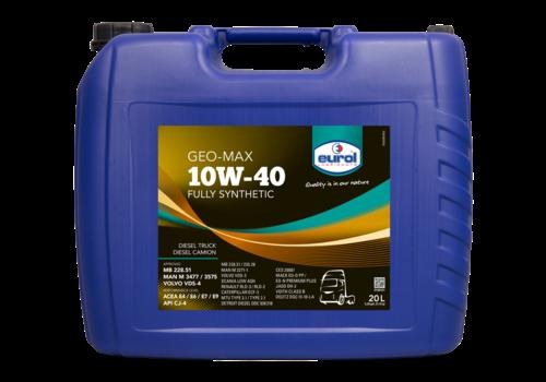 Eurol Geo-Max 10W-40 - Heavy Duty, 20 lt