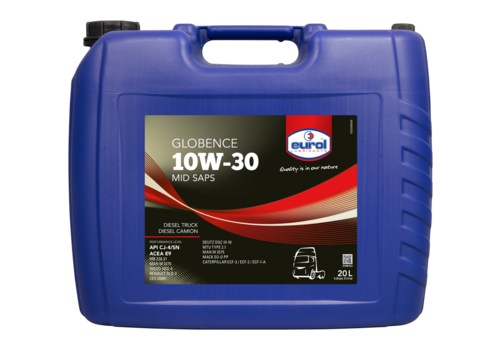 Eurol Globence 10W-30 - Heavy Duty, 20 lt