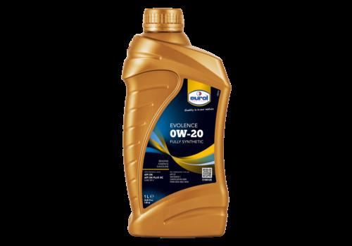 Eurol Evolence 0W-20 - Motorolie, 1 lt