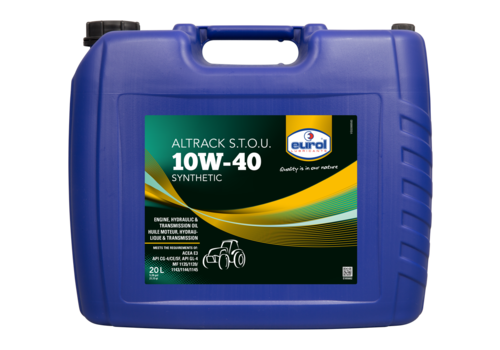 Eurol Altrack 10W-40 STOU Synthetic - Tractorolie, 20 lt