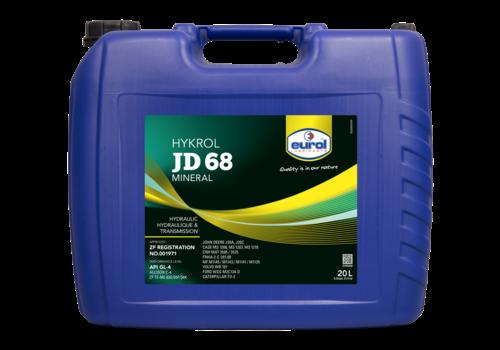 Eurol Hykrol JD 68 - Universele hydraulische- en transmissieolie, 20 lt