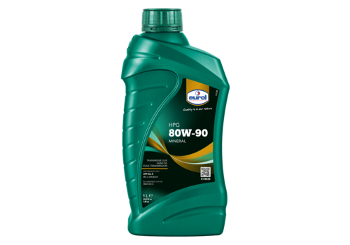 Eurol HPG 80W-90 GL5 - Transmissieolie, 1 lt