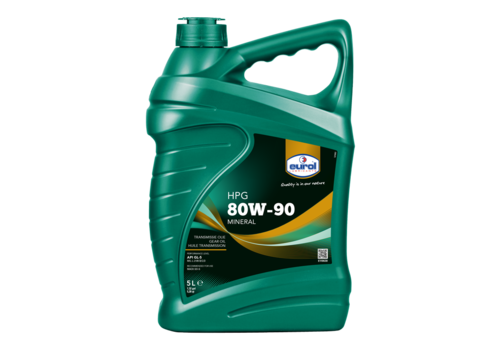 Eurol HPG 80W-90 GL5 - Transmissieolie, 5 lt