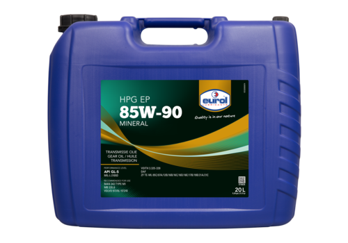Eurol HPG EP SAE 85W-90 GL5 - Transmissieolie, 20 lt