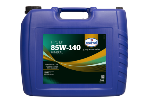 Eurol HPG EP 85W-140 GL5 - Transmissieolie, 20 lt