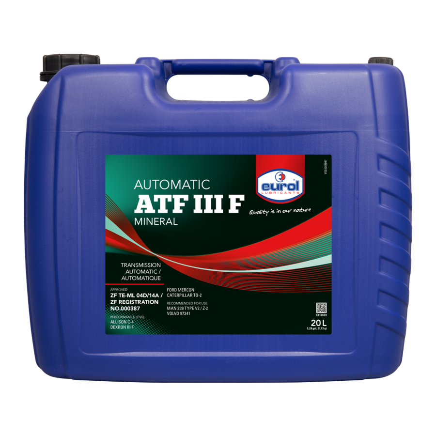 ATF III F - Transmissieolie, 20 lt-1