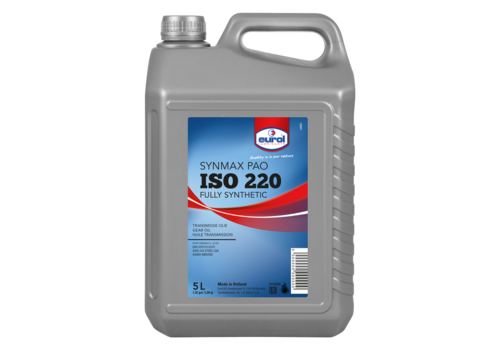 Eurol Synmax PAO ISO-VG 220 - Tandwielkastolie, 5 lt