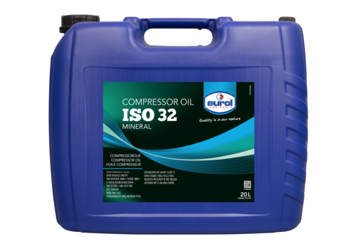 Eurol Compressor Oil 32 - Compressorolie, 20 lt