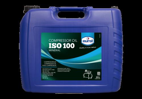 Eurol Compressor Oil ISO 100 - Compressorolie, 20 lt