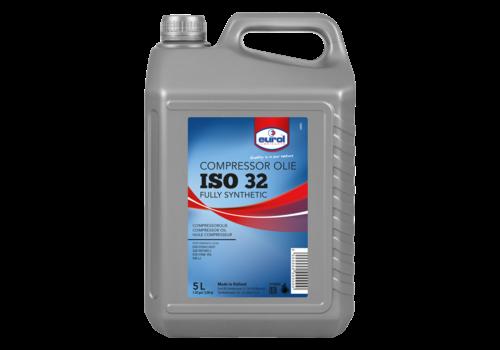 Eurol Fullsynt. Compr.olie 32 - Compressorolie, 5 lt
