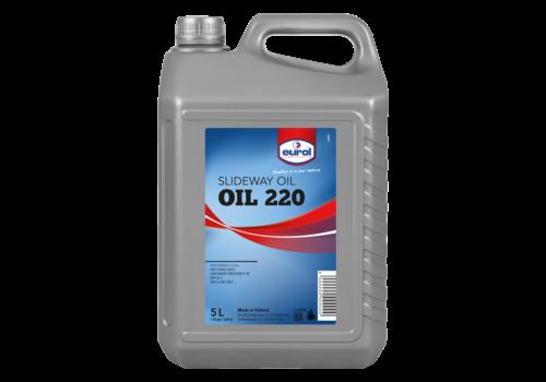 Eurol Slideway Oil 220 - Leibaanolie, 5 lt