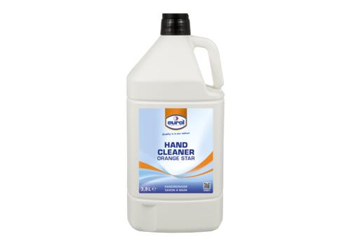 Eurol Hand Cleaner Orange Star, 3.8 lt
