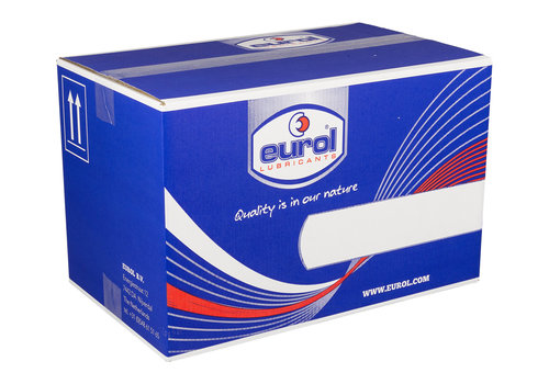 Eurol Brake Fluid DOT 3 - Remvloeistof, 12 x 1 lt