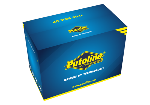 Putoline Scooter Gear Oil SAE 30 - Transmissieolie, 12 x 500 ml