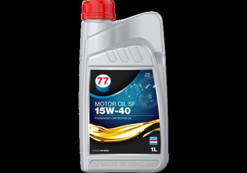 77 Lubricants Motor Oil SF 15W-40 - Motorolie, 1 lt
