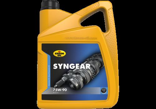 Kroon Oil Syngear 75W-90 - Versnellingsbakolie, 5 lt