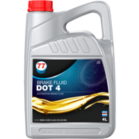 Brake Fluid Dot 4 - Remvloeistof, 4 lt