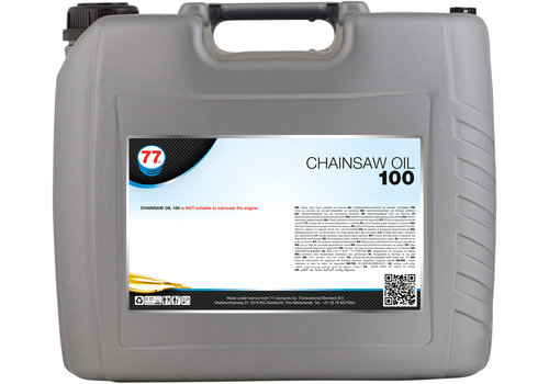 77 Lubricants Chain Saw Oil 100 - Kettingzaag olie, 20 lt