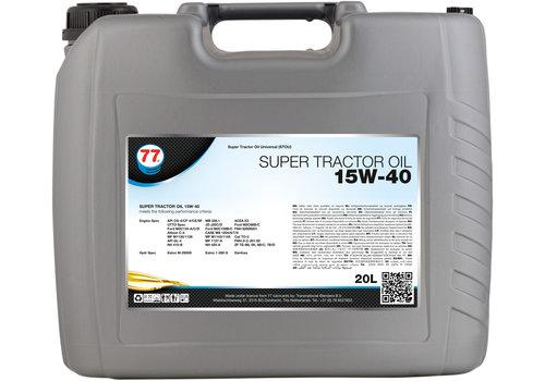 77 Lubricants Super Tractor Oil 15W-40 - Tractorolie, 20 lt