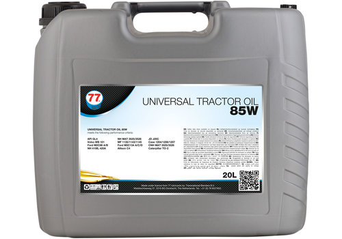77 Lubricants Universal Tractor Oil 85W - Tractor Olie, 20 lt